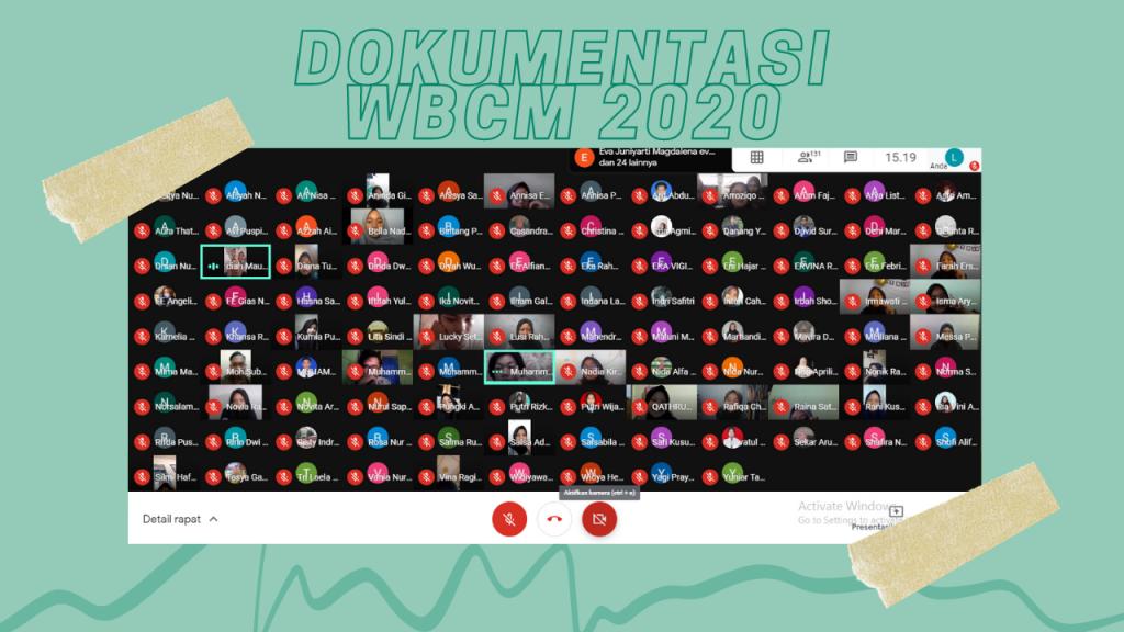 Wahana Bakti Cipta Manunggal (WBCM) 2020